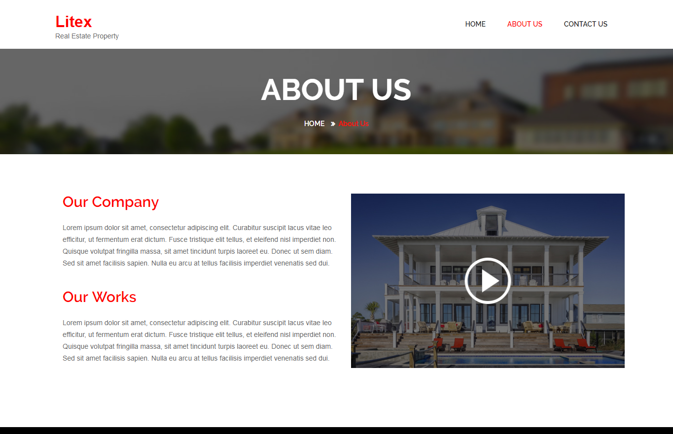 Litex – Real Estate Theme