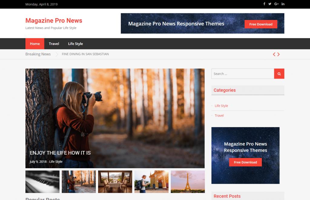 Magazine Pro – News Theme
